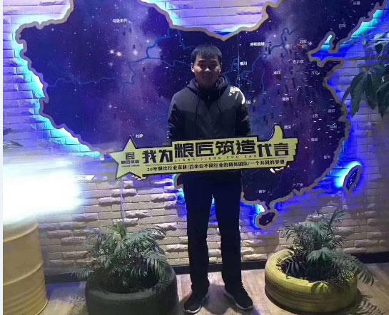 【单店加盟】山东滨州苏粥巡抚签约